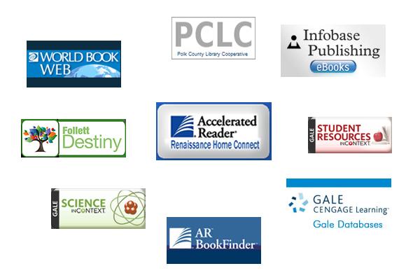 Logos of various media center resources
