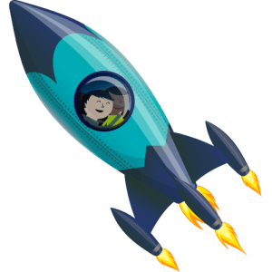 Valleyview Elementary Rocketship Logo